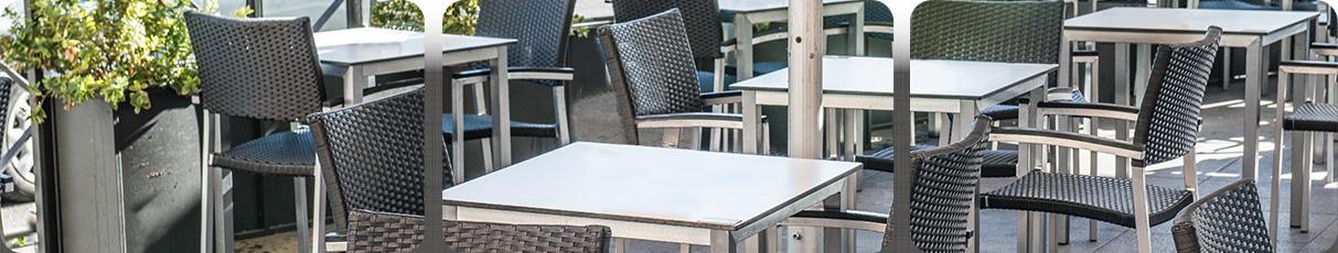 Sillas sillones polipropileno terraza mobiliario for Mobiliario exterior terraza